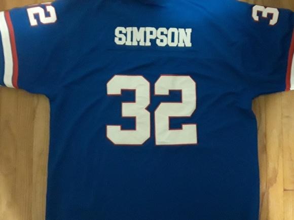 promo code 322d7 efd4c Buffalo Bills OJ Simpson jersey size 58 (3XL)